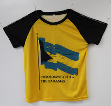 """Commonwealth of The Bahamas"" Map DriFit Shirt"
