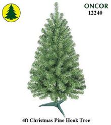 4ft Christmas Pine Hook Tree - 239 tips