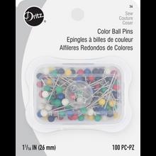 Color Ball Pins