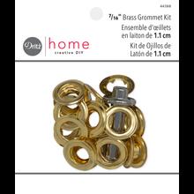 """Grommet Kit - Brass - 7/16"""""""