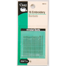 Embroidery Hand Needles - Size 8