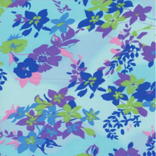 EasyCare Poly Cotton Prints Jacaranda Blue
