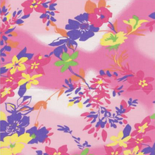 EasyCare Poly Cotton Prints Jacaranda Azalea