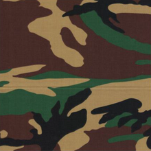EasyCare Poly Cotton Prints Camo Green