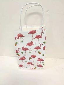 "Party Kraft Bag - 5""x8"" - 12pk - Flamingo"