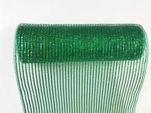 """Deco Mesh - 10"""" x 10yd - Emerald/Green Laser"""