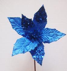 Poinsettia - Sequin/Velvet 19cm