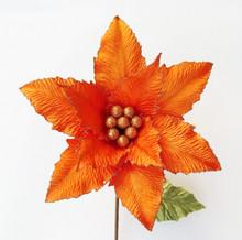 Poinsettia - Velvet/Glitter 29cm