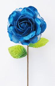 Rose - Velvet/Glitter 15cm