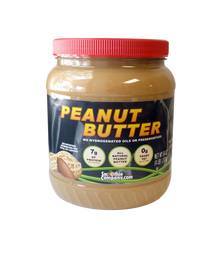 SmoothieCompany.com All Natural, Fresh Roasted Pumpable Peanut Butter for protein smoothies and protein frappes