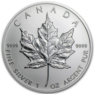 2013 Canadian Maple Leaf 1 oz Silver Coin