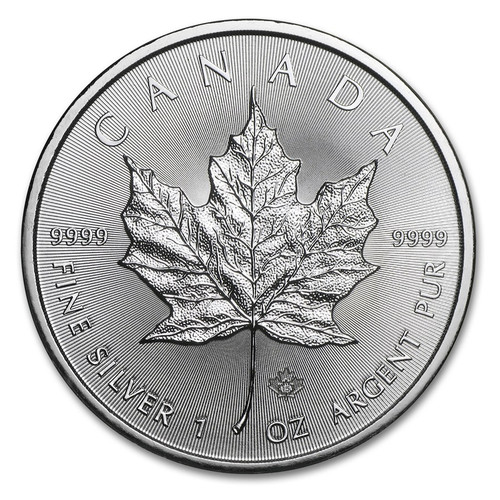 2015 Canadian Maple Leaf 1 oz Silver Coin