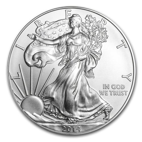 2014 American Eagle 1 oz Silver Coin