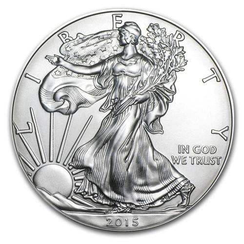 2015 American Eagle 1 oz Silver Coin