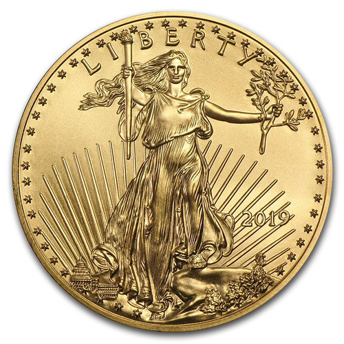 2019 American Eagle 1/4 oz Gold Coin