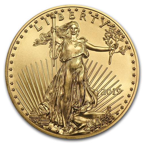 2019 American Eagle 1/10 oz Gold Coin