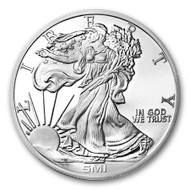 Sunshine Mint Walking Liberty 1 oz Silver Round