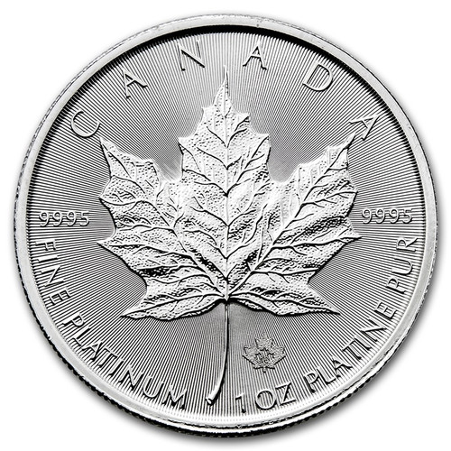 2017 Canadian Maple Leaf 1 oz Platinum Coin