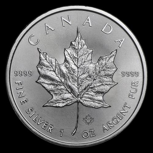 2019 Canadian Maple Leaf 1 oz Silver Coin