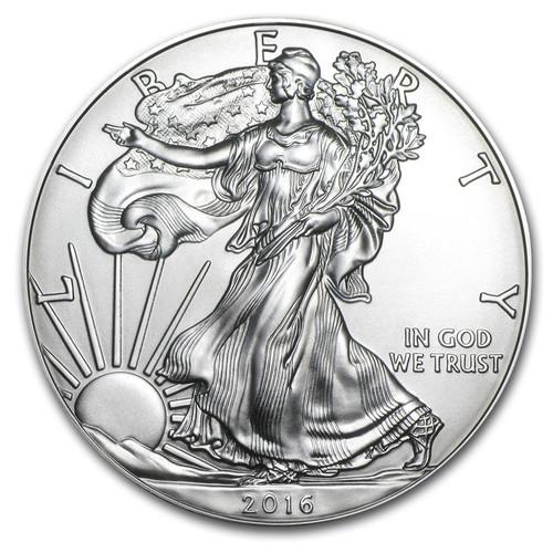 2016 American Eagle 1 oz Silver Coin