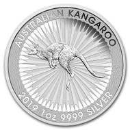 2019 Australian Kangaroo 1 oz Silver Coin
