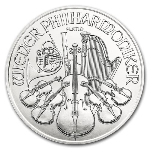 2017 Austrian Philharmonic 1 oz Platinum Coin