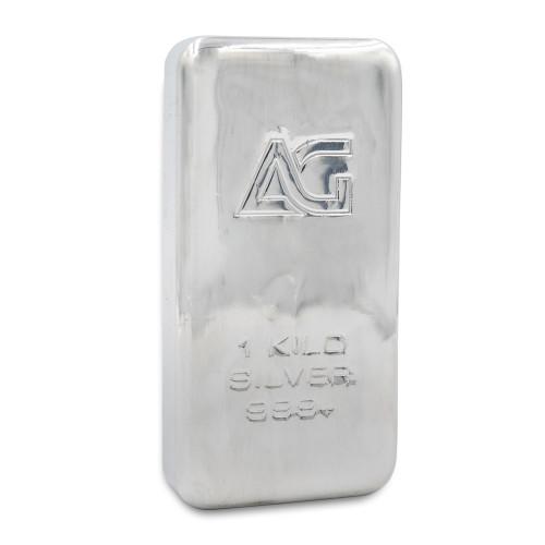 As Good As Gold 1 kilo Silver Bar