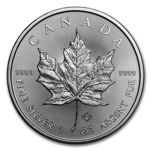 2018 Canadian Maple Leaf 1 oz Silver Coin