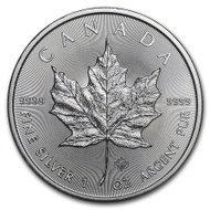 2020 Canadian Maple Leaf 1 oz Silver Coin