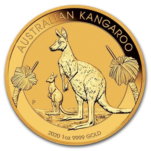 2020 Australian Kangaroo 1 oz Gold Coin