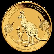 2020 Australian Kangaroo 1/4 oz Gold Coin