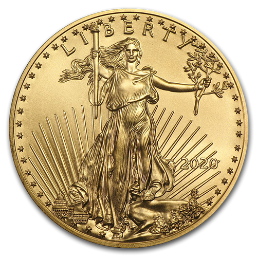 2020 American Eagle 1/4 oz Gold Coin