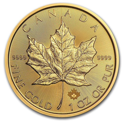 2020 Canadian Maple Leaf 1 oz Gold Coin