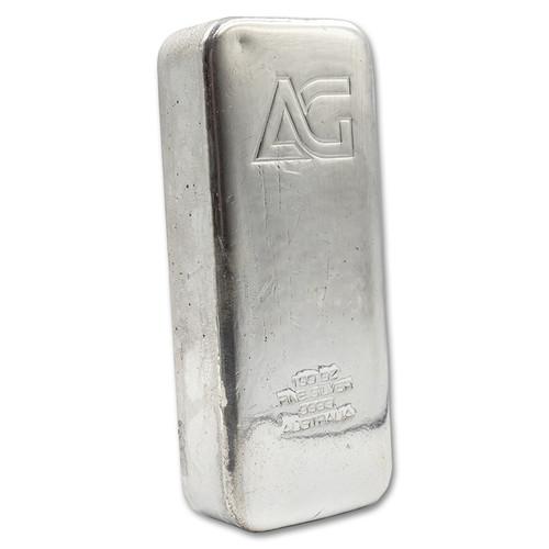 As Good As Gold 100 oz Silver Bar