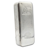 As Good As Gold 100 oz Silver Bar