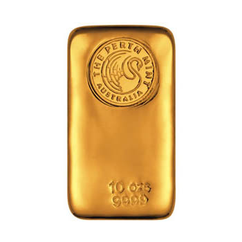 Perth Mint 10 oz Gold Bar