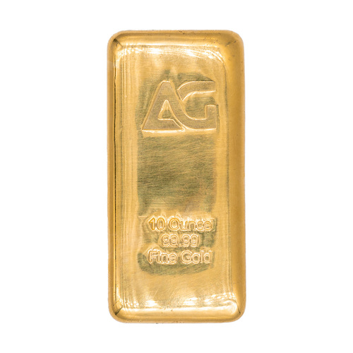 As Good As Gold 10 oz Gold Bar