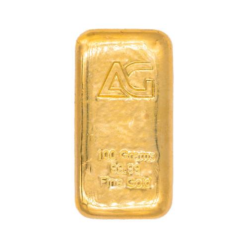 As Good As Gold 100 gram Gold Bar