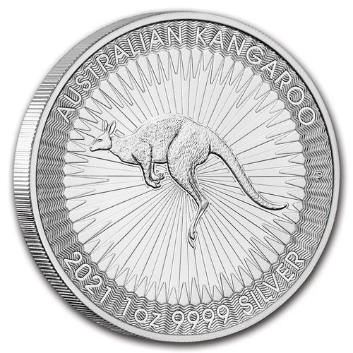 2021 Australian Kangaroo 1 oz Silver Coin