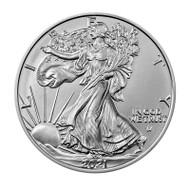2021 American Eagle 1 oz Silver Coin (Type 2)