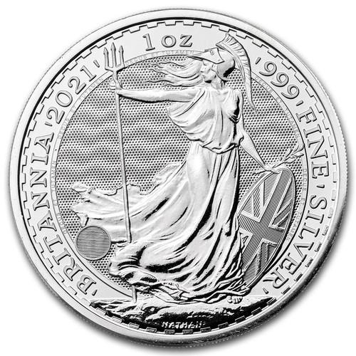 2021 Britannia 1 oz Silver Coin
