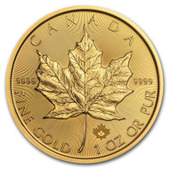 2021 Canadian Maple Leaf 1 oz Gold Coin
