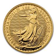 2021 Britannia 1 oz Gold Coin