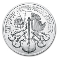 2021 Austrian Philharmonic 1 oz Silver Coin