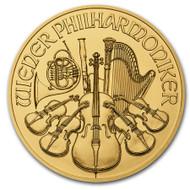 2021 Austrian Philharmonic 1 oz Gold Coin