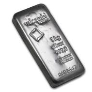 Valcambi 1 kilo Silver Cast Bar