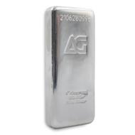 As Good As Gold 1 kilo Silver Bar (Serialised)