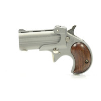 Cobra Firearms Big Bore Derringer - Satin with Wood Grips
