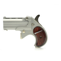Cobra Firearms Big Bore Derringer - Satin with Wood Grips - 380 ACP