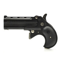 Cobra Firearms Long Bore Derringer - Blued with Black Grips - 9mm